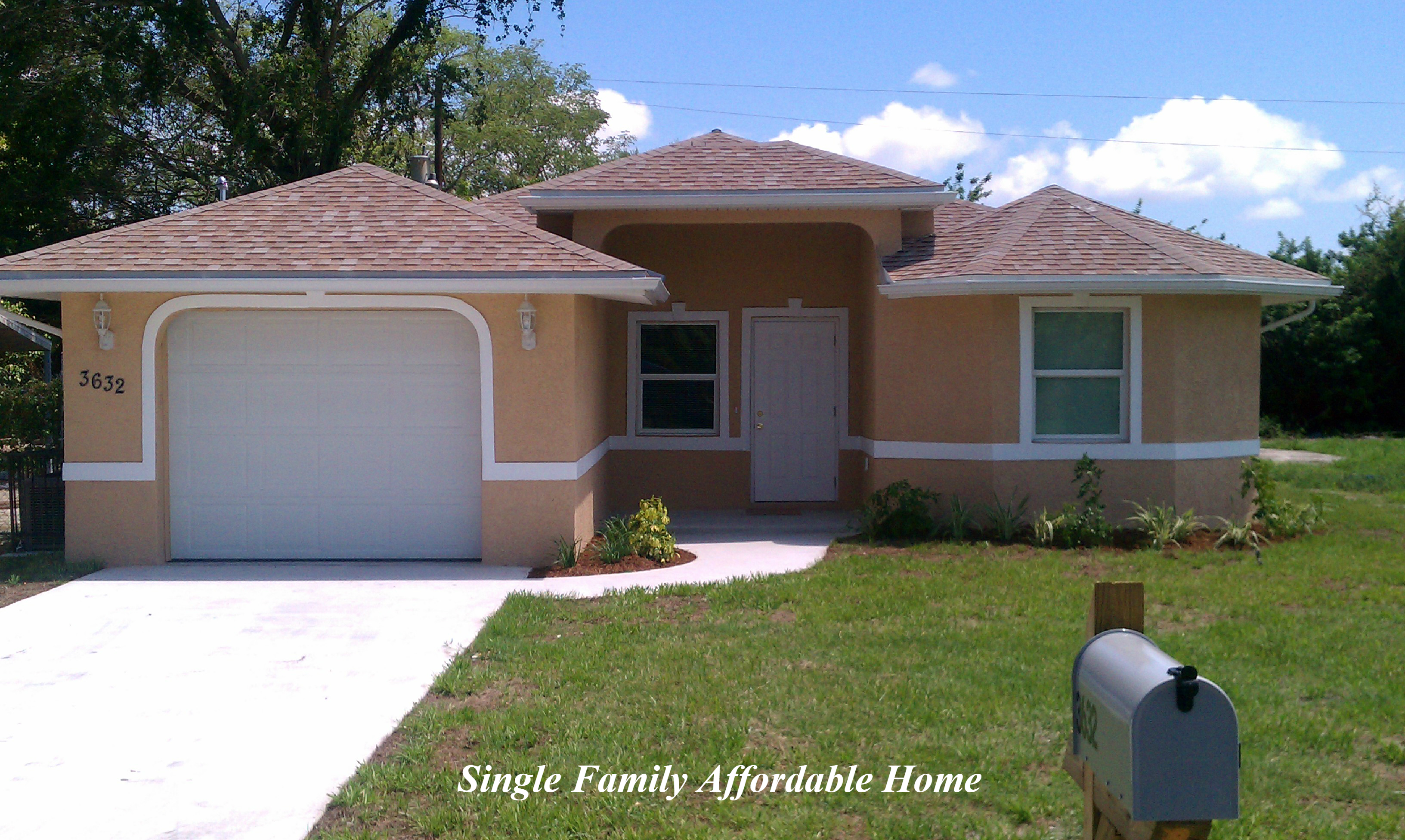 Single Family Affordable Home